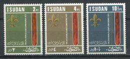 140 SOUDAN 1974 - Scout, Jamboree, Embleme (Yvert 269/71) Neuf ** (MNH) Sans Trace De Charniere - Soudan (1954-...)