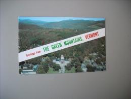 ETATS UNIS VT VERMONT AERIAL VIEW OF VERMONT STATE CAPITOL MONTPELIER - Montpelier