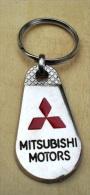 Porte  Clefs     MITSUBISHI  -   MOTORS   (  Automobile   ) - Key-rings