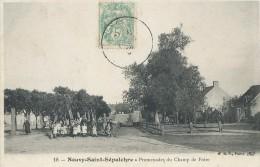 NEUVY - SAINT - SEPULCHRE   ( 36 ) -  Promenade Du Champ De Foire - France