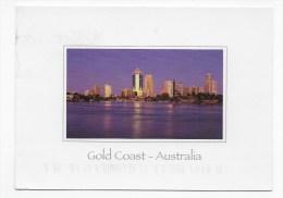 (RECTO / VERSO) GOLD COAST - SURFERS PARADISE AT DUSK - Photo MAREK A. COOWATCH - Gold Coast