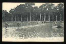 Yvelines 78  De Versailles 253 1er Régiment Du Génie Ecole Des Ponts La Passerelle Cycliste  LR Animée - Versailles