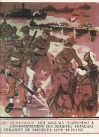 """Repro Affiche """"La Dernière Guerre""""dim 22.7/30 Cm: Dunkerque 1940 - Affiches"""