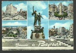 Souvenir de BEYROUTH - Place Riad Solh - Place de l'Etoile - Rue Weygand - Place des Martyrs