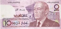 BILLETE DE MARRUECOS DE 10 DIRHAMS  AÑO 1987 CALIDAD EBC (XF) (BANKNOTE) - Maroc
