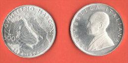 Repubblica Italiana 500 Lire Guglielmo Marconi 1974 - 1946-… : République