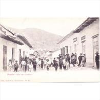 SDMTP0673-LFTD9371. TARJETA POSTAL DE COLOMBIA .casas Y Personas En La CALLE DEL COMERCIO De OCAÑA.Colombia - Colombia
