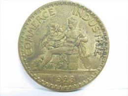 BON POUR 2 FRANCS 1923 COMMERCE INDUSTRIE N°2 - France