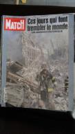 PARIS-MATCH N° 2731 --  Sept  2001  -- Ces Jours Qui Font Trembler Le Monde - Attentat World Trade Center ...etc........ - Livres, BD, Revues