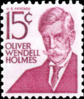 1968 USA Oliver Wendell Holmes Stamp Sc#1288 Famous Doctor Writer Poet - Jobs