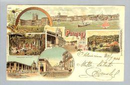 AK Paraguay 1900-07-20 Litho Rosenblatt #4322 - Paraguay