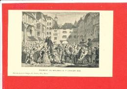 GENEVE Cpa Animée FROMENT Au MOLARD Le 1 Janvier 1533 Edit Franke - GE Ginevra