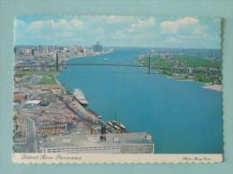 DETROIT River Panorama - Detroit