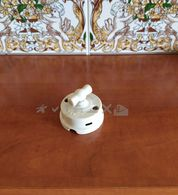 PORCELAIN ELECTRIC SWITCH Wall INTERRUPTEUR Industrial Art Home Decor Rustic Style - Switches
