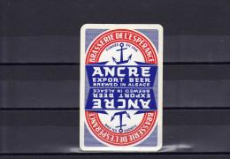 Dos D´une Carte à Jouer De La Brasserie ANCRE - Carte Da Gioco