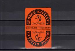 Dos D´une Carte à Jouer De La Biere GEORGE KILLIAN´S - Cartes à Jouer