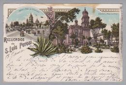 AK Mexico S.Luis Potosi 1903-02-02 Litho - Mexique