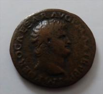 AS NERON  POIDS 9.7  GR QUALITE - 1. La Dinastia Giulio-Claudia Dinastia (-27 / 69)