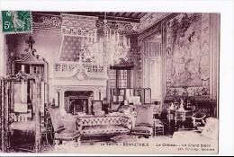 Carte 1908 BONNETABLE / LE CHATEAU - LE GRAND SALON - Bonnetable