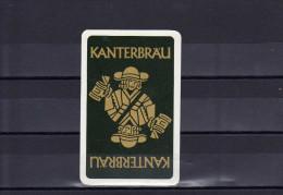 Dos D´une Carte à Jouer De La Brasserie KANTERBRÄU - Cartes à Jouer