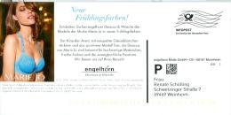 BRD Mannheim Infopost FRW Engelhorn Modekaufhaus Frau Dessous BH Marie Jo - Textil