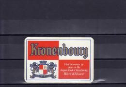 Dos D´une Carte à Jouer De La Brasserie Kronenbourg - Ohne Zuordnung
