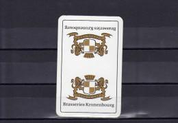 Dos D´une Carte à Jouer De La Brasserie Kronenbourg - Playing Cards