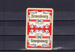 Dos D´une Carte à Jouer De La Brasserie Kronenbourg 1664 - Carte Da Gioco