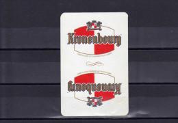 Dos D´une Carte à Jouer De La Brasserie Kronenbourg - Unclassified