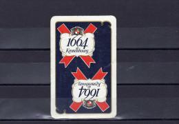 Dos D´une Carte à Jouer De La Brasserie Kronenbourg 1664 - Non Classés