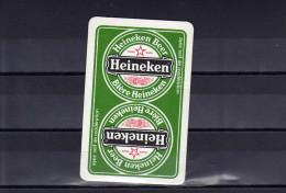 Dos D´une Carte à Jouer De La Brasserie Heineken - Unclassified