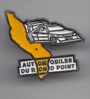 Pin´s Automobiles Du Rond Point Dolus Ile D´Oléron  En Charente Maritime Dpt 17   Réf 5903 - Cities