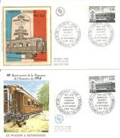 N° 2022  De 1978 -  Lot De 2 FDC   - Armistice Haudroy , Carrefour De Rethondes - FDC