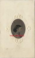 En 1867-CDV Ferrotype Signé-Emma WASSMER (de Hanovre) Future ép. NETTEBROTH (de Louisville)-Houston Texas - Photographs