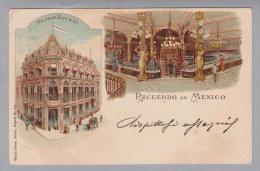 AK Mexico 1901-04-14 Litho Geb. Künzli ZH # 718 - Mexique