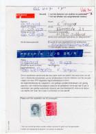Verzoek Tot Bewaren Postzendingen Rate 7,50 Sittard 1993 (LA2-14) - Period 1980-... (Beatrix)