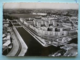 V08-14-calvados-caen-la Riviere L'orne-les Quais Et Vue Generale--carte Photo- - Caen