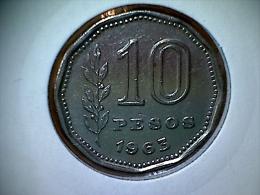 Argentine 10 Pesos 1963 - Argentine