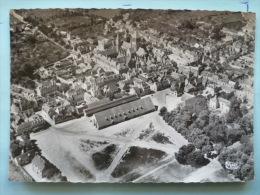 V08-14-calvados--saint Pierre Sur Dives-la Halle Aux Crains-vue Aerienne--carte Photo- - Dives