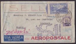Brésil Zeppelin 28-10-32 - TB - Luchtpost