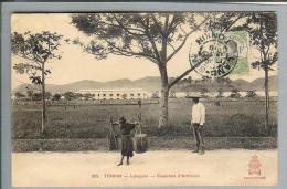 AK Vietnam Indo.Chine Tonkin 1918-10-23 Foto #805 Casernes - Viêt-Nam