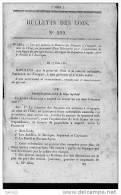 Bulletin Des Lois Du 17 Juin 1857 - 152 Ans D´âge ! - Engagement Ministère Des Finances Pour Lexploitation De Trois Lign - Decrees & Laws