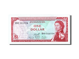 [#304839] Caraïbes, 1 Dollar Type Elizabeth II - Caraïbes Orientales
