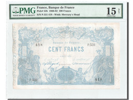 France, Indices Noirs, 100 Francs, 8.3.1875, KM:52b, PMG Ch F15 - ...-1889 Francos Ancianos Circulantes Durante XIXesimo