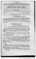 Bulletin Des Lois Du 25 Juin 1857 - 152 Ans D´âge ! - Divers échanges Du Domaine De La Couronne - - Decrees & Laws