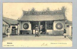 AK Asien Indonesien N.-Indien Weltevreden 1903-04-08 Chin. Tempel - Indonésie