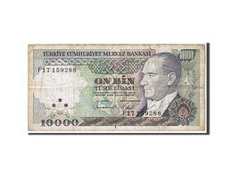 Turquie, 10 000 Lira Type 1970 - Turquie