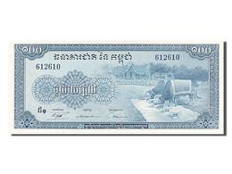 Cambodge, 100 Riels, Type 1962-1963 - Cambodia