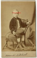 En 1874-format Cabinet-Alexander NETTEBROTH Enfant,  De Louisville (USA) -fils D´Emma WASSMER Par Washburn - Photos