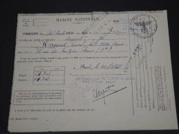PERMISSION DE LA MARINE NATIONALE EN 1941  DE BREST   DOCUMENT INTERRESSANT ET RARE   A VOIR LOT P3509 - Documents
